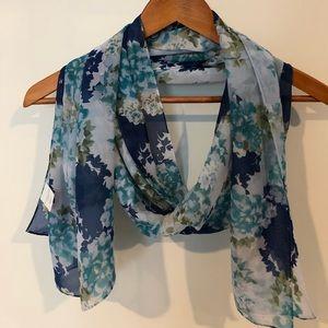 Christopher banks floral scarf